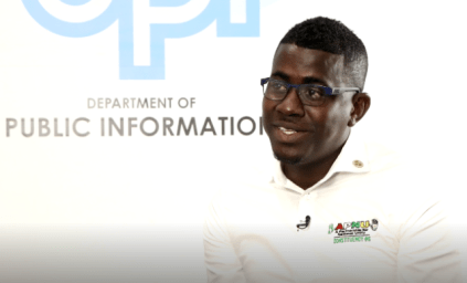 Councillor of Constituency 5 (Sophia 'A' & 'B' Field), Akeem Peter in an interview with DPI.