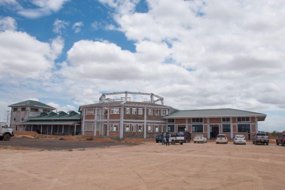 The Lethem industrial estate currently under construction