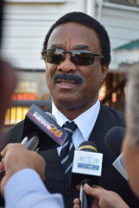 Attorney General and Minister of Legal Affairs, Basil Williams SC.,