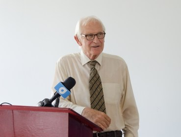 Head of the Department of Geology, University of Guyana, Dr. Andrew Chater.