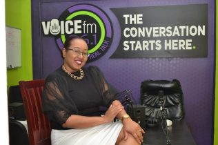 Manager of Voice FM, Maria Benschop