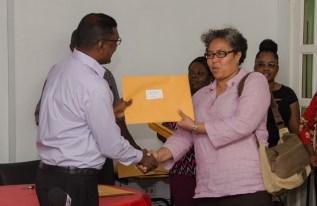 Guyana Responsible Parent Association receiving facility license.