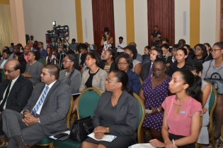 Members of the judiciary at the launch of the Forensic Psychology and Sexual Offences Special Training Series