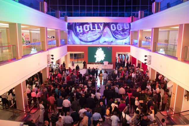 Scenes from the opening of MovieTowne Guyana