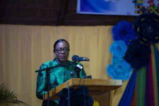 Minister of Education, Dr. Nicolette Henry