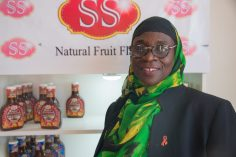 Sandra Craig, owner of S&S Natural Fruit Flavour