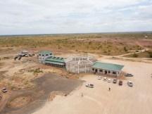 The Lethem industrial estate currently under construction.