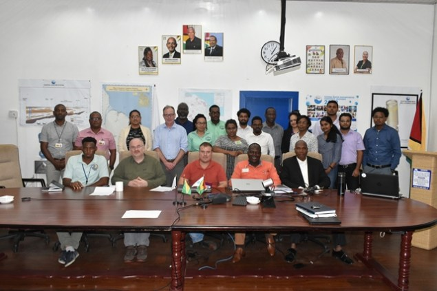 Participants of a recent workshop on the outcome of the Geophysical well logging survey.