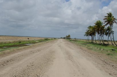 Remaining portion of Lot 5 Farmers' Road to be completed