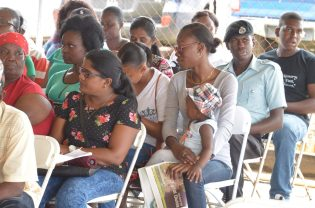 Scenes from the Region 5, Mahaica-Berbice government outreach at Fort Wellington