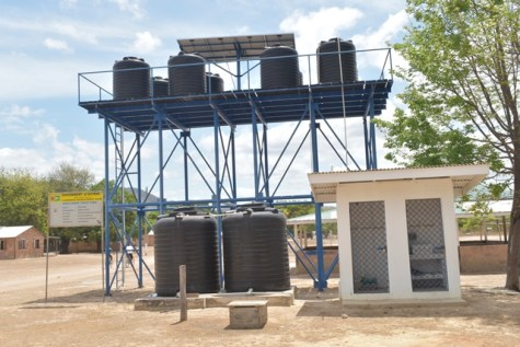 The water supply system constructed by BNTF that proved insufficient.