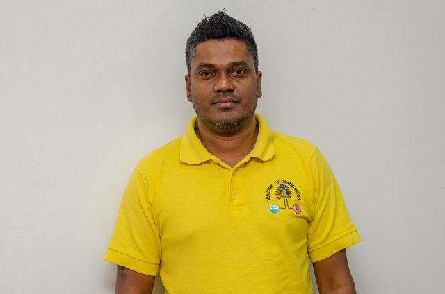 Coordinator of Engineering Services at the Ministry of Communities' Community Infrastructure Improvement Programme (CIIP), Naeem Khan.