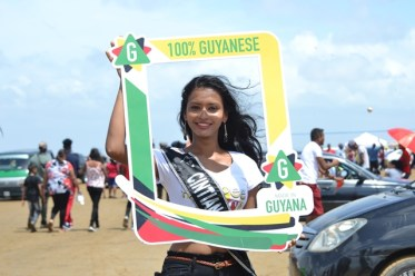 Delegate of Miss Earth Guyana 2019, Cinthia Harry.