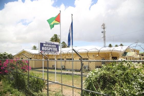 The Mahaicony Hospital.