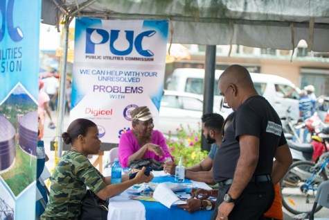 Scenes from PUC's 'Open Day'.