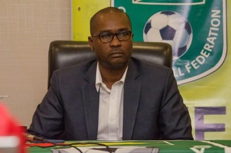 President of Guyana Football Federation (GFF), Wayne Forde.