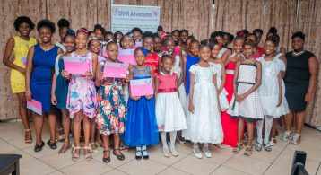 The Thirty-Eight Girls who Graduated from The Parushi Club SRHR Mentorship programme.