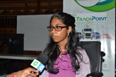 Rajnie Persaud, a first-year student at the University of Guyana in Accounting