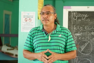 Member of Parliament (MP) and Ministerial Advisor to the Ministry of Indigenous Peoples' Affairs, Mervyn Williams.