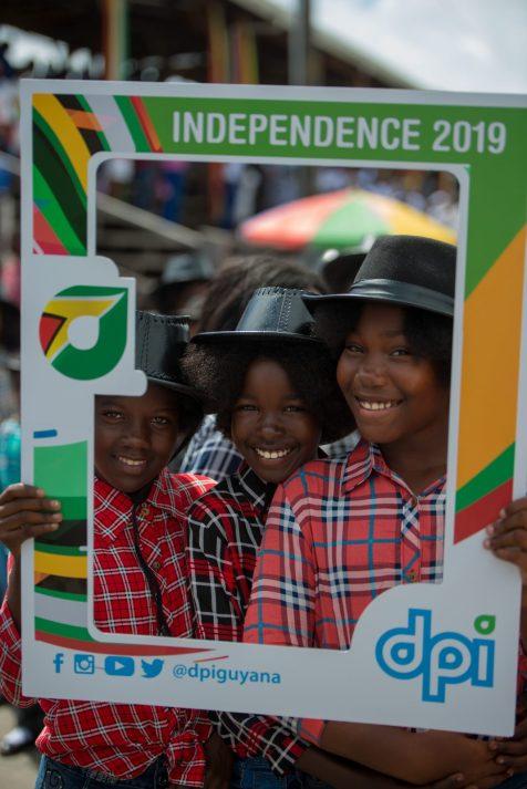 Young dancers enjoying Independence celebrations at Durban Park