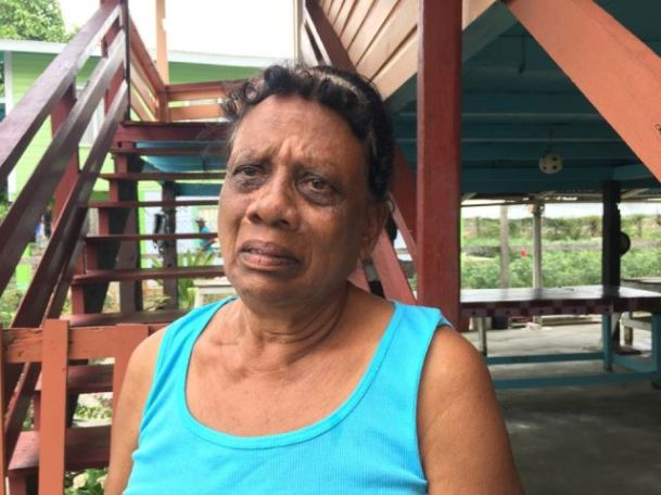 Irene Samaroo, the mother of Premcharran and Harricharran Samaroo who were brutally gunned down by armed bandits on Old Year's Night 2018.