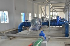 Section of the Diamond Water Treatment Plant.