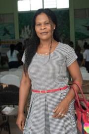 Wanita July, proud mother of Isaiah July.