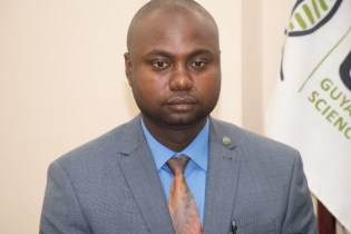 Director of the Guyana Forensic Lab, Delon France.