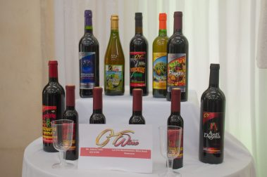 The wine display from GT Wines