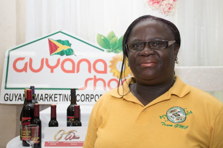 General Manager of the Guyana Marketing Corporation, Ida Sealey-Adams