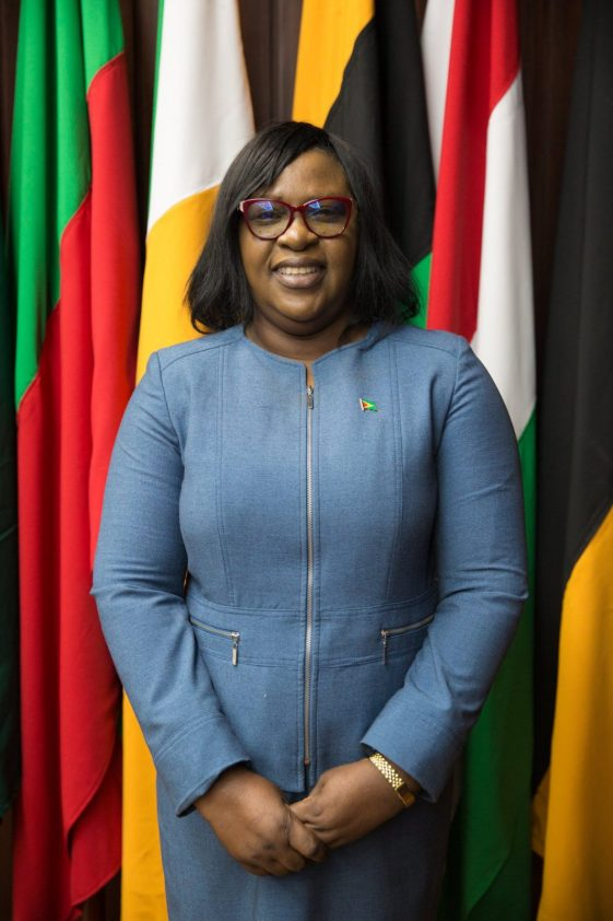 Minister of Foreign Affairs for the Co-Operative Republic of Guyana, Dr. Karen Cummings