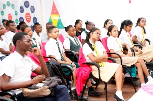 A section of the audience at the debating competition (Ministry of Education photo)
