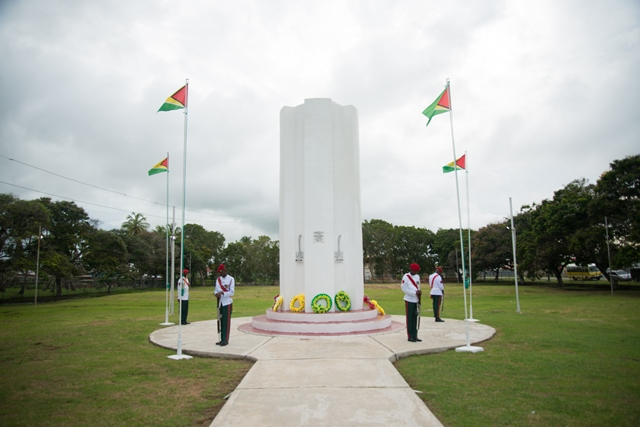 The Enmore Martyr's Monument.