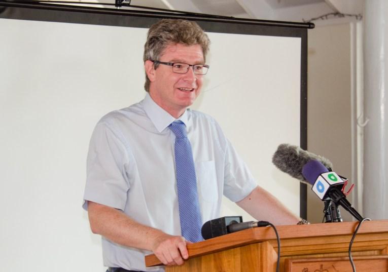 British High Commissioner to Guyana, Greg Quinn