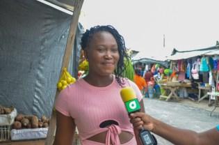 Kenisha Walcott, a resident of Region 2.