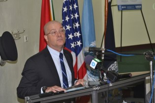 Deputy Chief of Mission of the US Government, Mark Cullinane.