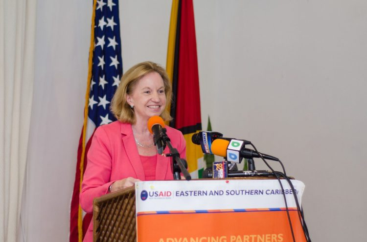 United States of America's Ambassador to Guyana, HE Sarah-Ann Lynch