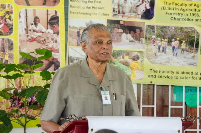 Pro-Chancellor of the University of Guyana (UG), Major General (ret'd), Joseph Singh.