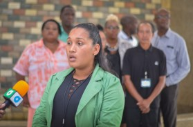 Councillor of the Mabaruma Town Council, Neisha Mendonza