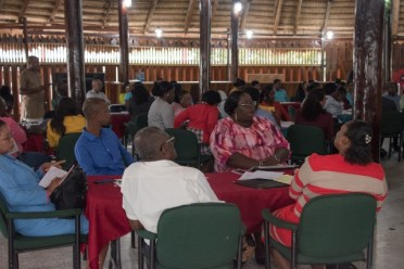 A section of the REdOs, DEOs, Subject Specialists and Education Officers present.
