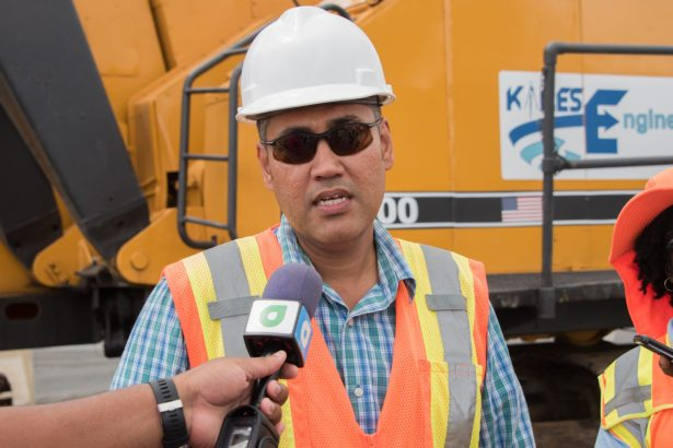 Engineer with the Ministry of Public Infrastructure, Mark Greene