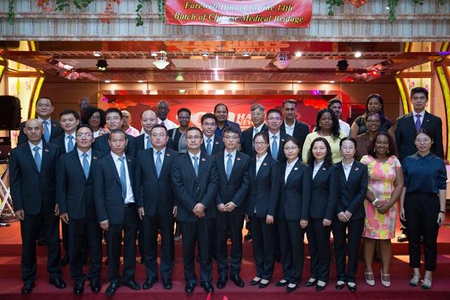 Incoming 15th Chinese Medical Brigade