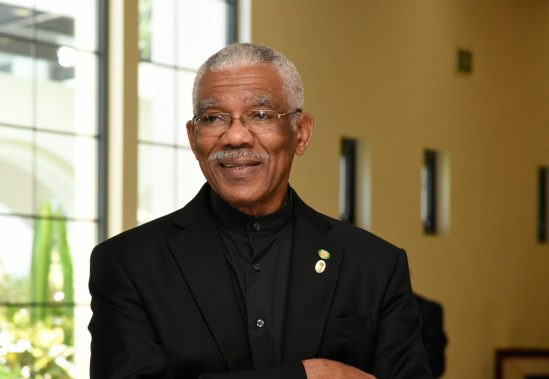 His Excellency, President David Granger