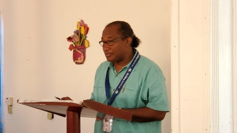 Focal Point Coordinator and advisor to the Minister of Public Health, Alex Foster.