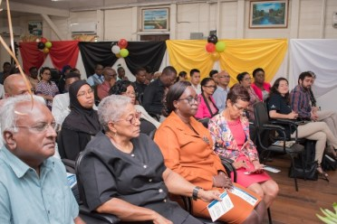 Stakeholders gathered at the launch of ProFuturo Project Guyana.