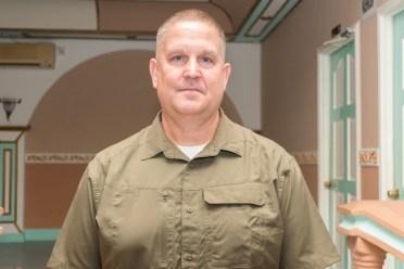 US Coast Guard Lieutenant, Commander Don Davis.