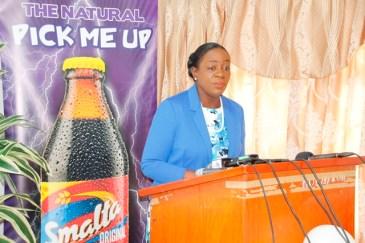 Minister of Education, Dr. the Hon. Nicolette Henry
