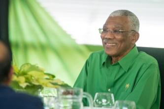 His Excellency, President David Granger.