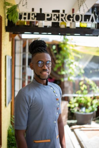 Kester Robinson Chef/Owner of The Pergola