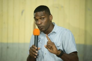 Councilor of the Neighbourhood Democratic Council (NDC), Raphael Bagot.